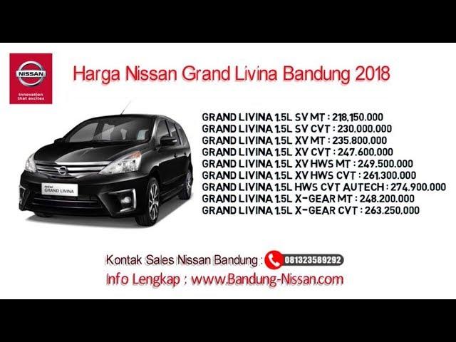Harga Nissan Grand Livina - Dealer Nissan Bandung | 081323589292