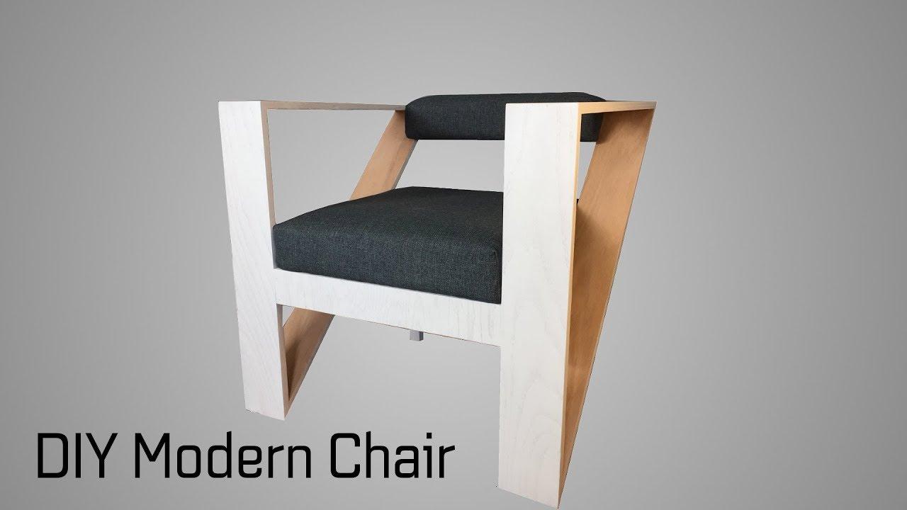 modern chair. Building A DIY Modern Chair || The Oak Triangle