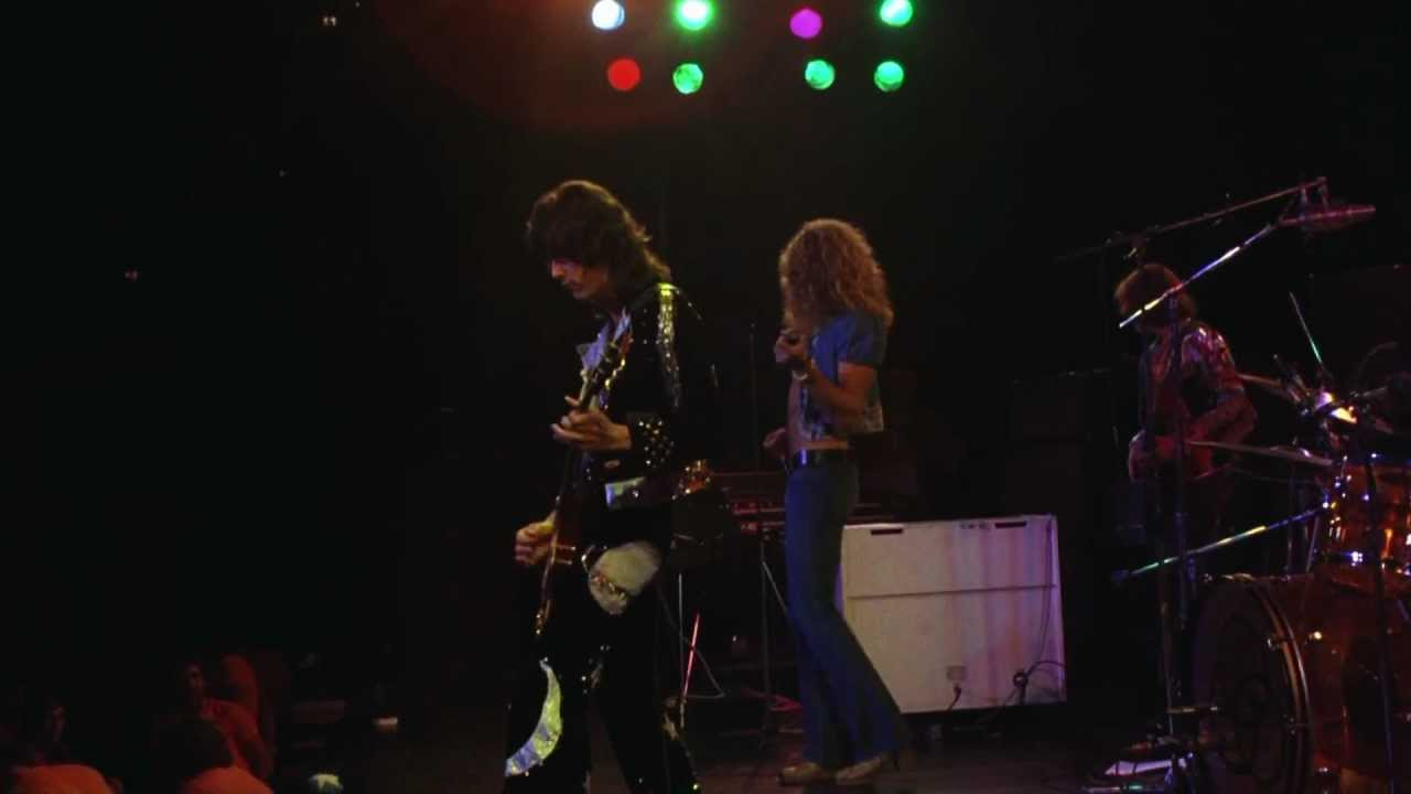 Led Zeppelin Rock N 39 Roll Live At Madison Square Garden 1973 Hd Youtube