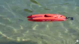 Bateau Catamaran Pro Boat BlackJack 9 - Navigation Carrière TH1