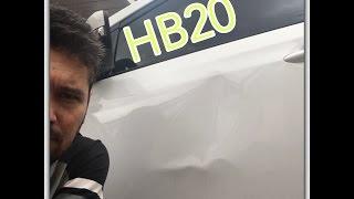 Gambar cover Martelinho de ouro ! HB20 Porta bem danificada !!