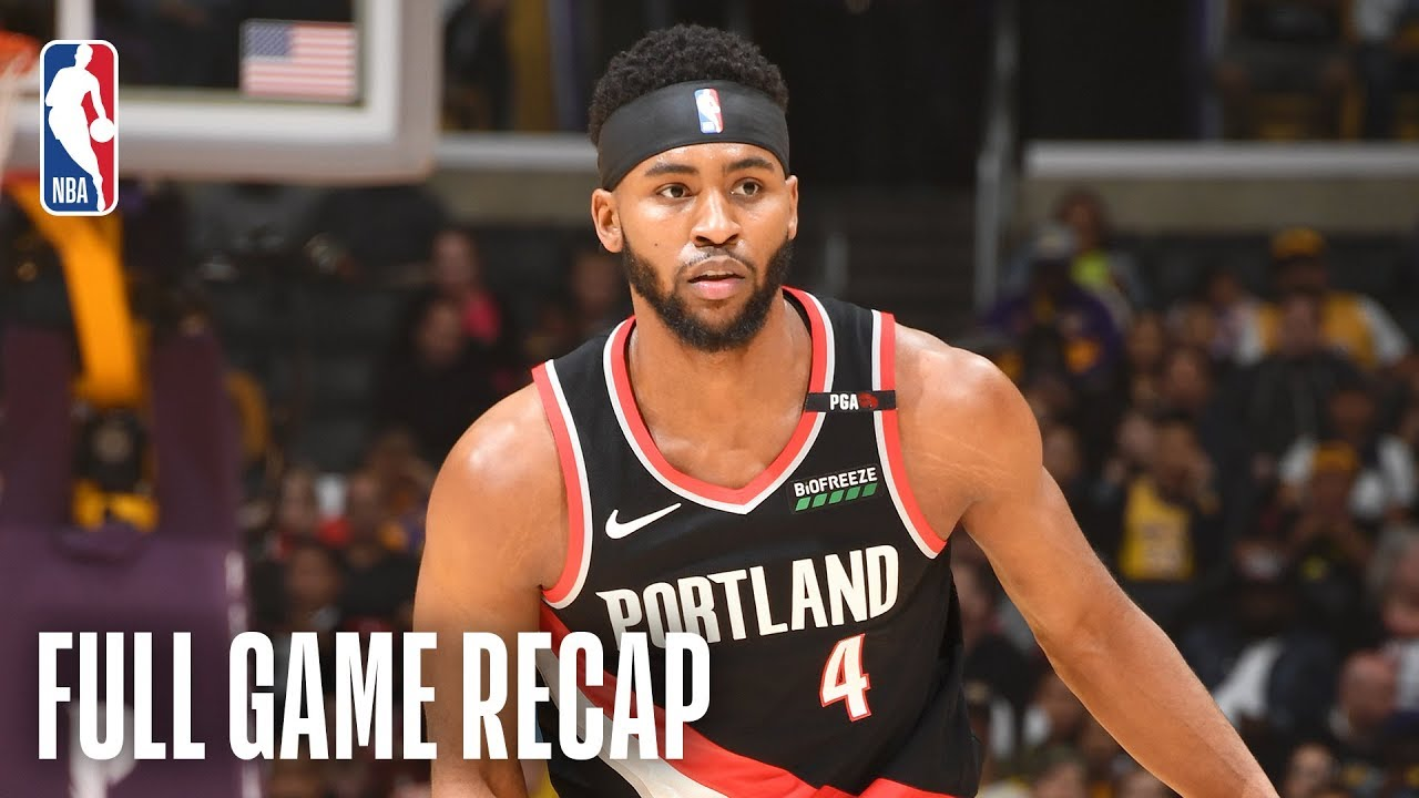 Moe Harkless Comes Up Clutch For