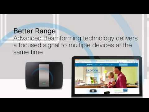 Linksys AC video with music