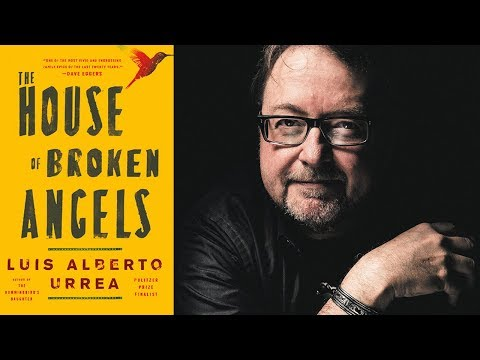 Luis Alberto Urrea on The House of Broken Angels at the 2018 L.A. Times Festival of Books
