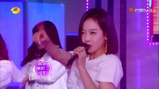 [HD] 180728 Victoria & Du Haitao《VickiNana》Performance - Happy Camp