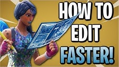 Fortnite: How To Edit Faster & More Efficiently!   Tips & Tricks (Season 7)