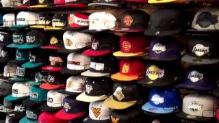 THE 4TH QUARTER SNAPBACK HAT CAP SHOP #8 HAT WALL TOUR