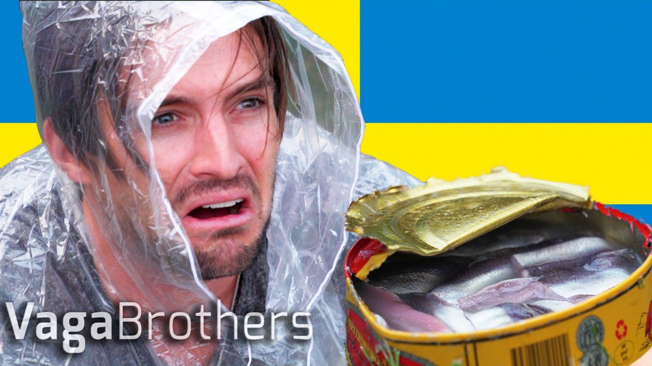 surstr214mming challenge eating swedens worst food youtube