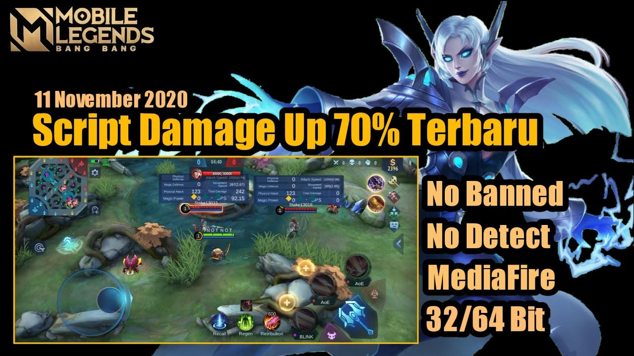 Script Damage Up 70% All Hero Mobile Legend Terbaru…