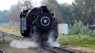 Nilgiri Mountain Railway: Loco moving out from loco shed