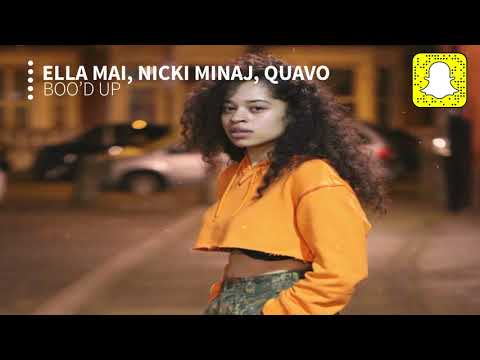 Ella Mai - Boo'd Up (Remix) (Clean) ft. Nicki Minaj & Quavo