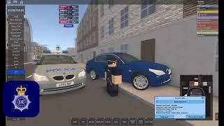 Guildley Police escort minster!-Roblox