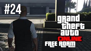 GTA V Online Next Gen Free Roam Gameplay #24 - Lovely Day (GTA 5 Free Roam PC Gameplay)