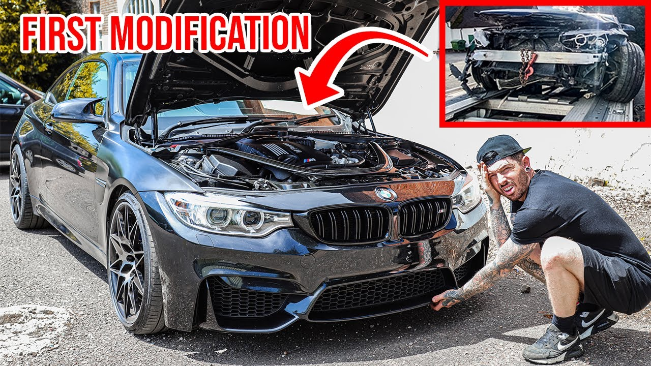 GETTING MY WRECKED BMW M4 ROAD LEGAL