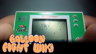 Balloon Fight (Game & Watch) Gameplay
