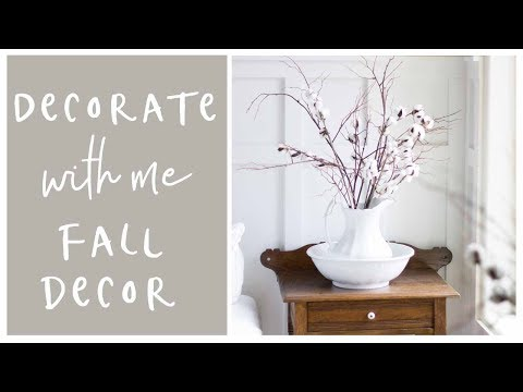 Decorate with me: Fall Home Decor