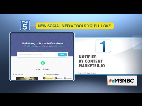 5 New Social Media Tools You'll Love by OPEN Forum
