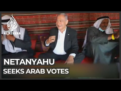 Israel's Netanyahu Courts Palestinian Voters In Surprise Move