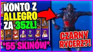 ACCOUNT WITH ALLEGRO FOR 35ZŁ-* BLACK KNIGHT AND OTHER RARE SKINS? * (Fortnite Battle Royale)