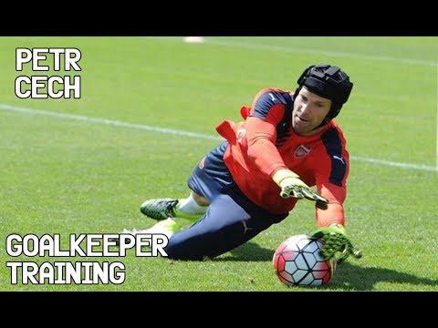 Petr Cech / Goalkeeper Training !