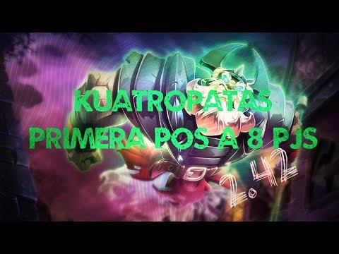 DOFUS I MANSION DE KUATROPATAS PRIMERA POSICION A 8 PJS