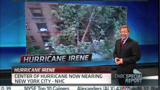 Todd Gross on CNBC Hurricane Irene