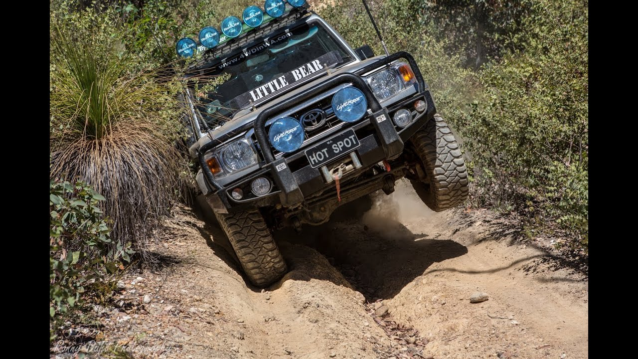 4x4 off road challenge track Jumlimar state forest - YouTube