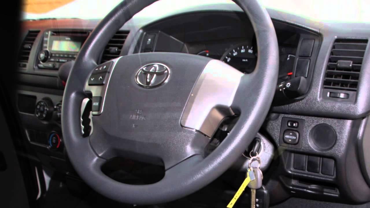 9a15425e0b10b1 2015 Toyota Hiace KDH201R LWB White 4 Speed Automatic Van - YouTube