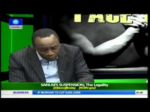 Face Off: Legal Practitioners Debate Legality of Sanusi's Suspension Pt.3
