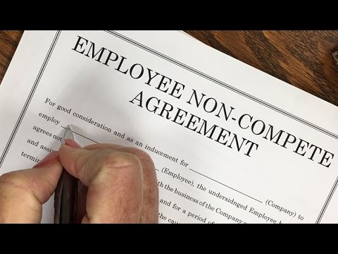 Why You Should Never Sign A NonCompete Agreement For Employment
