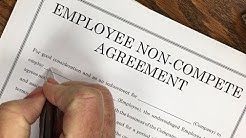 Why You Should NEVER Sign a Non-Compete Agreement For Employment