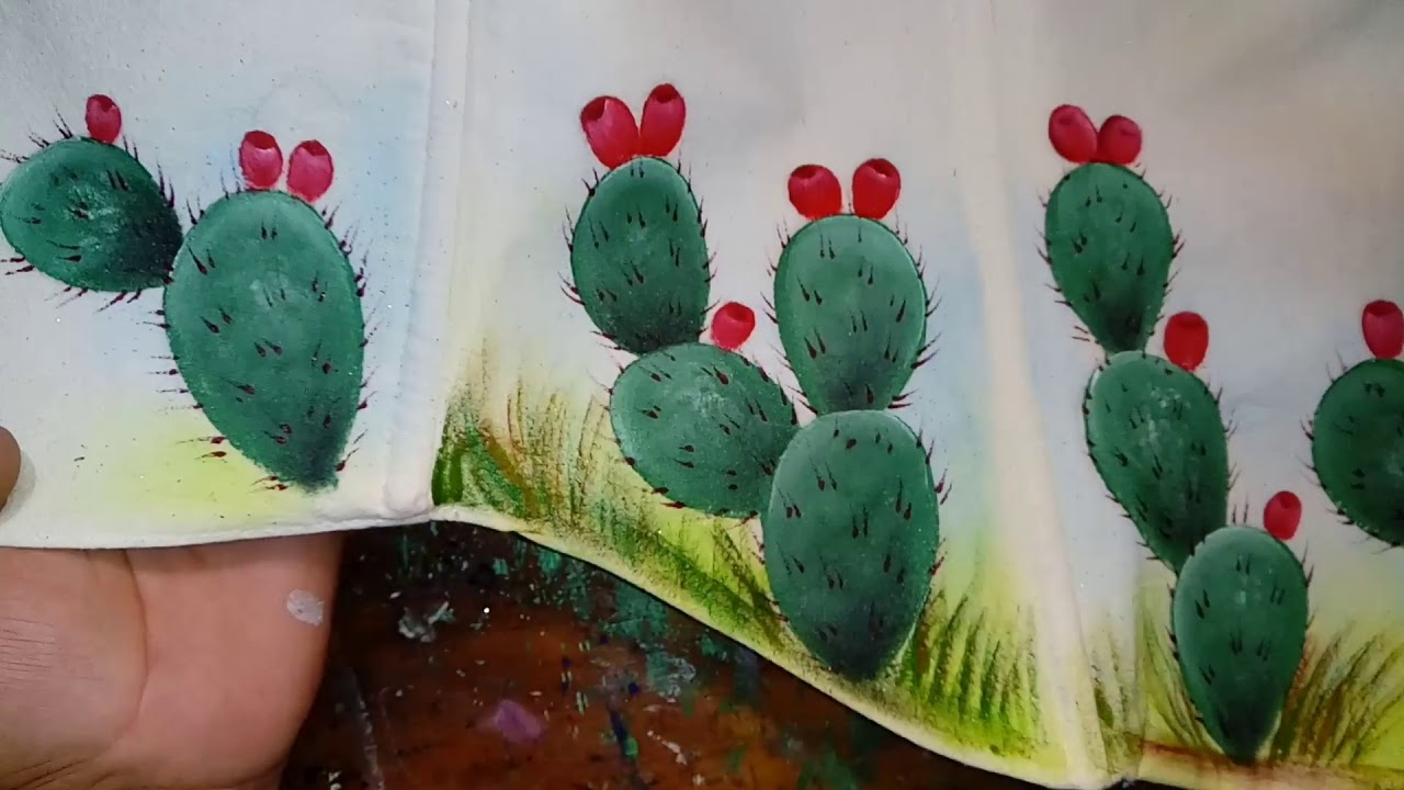 Pintando Nopal Con Alfre Severo