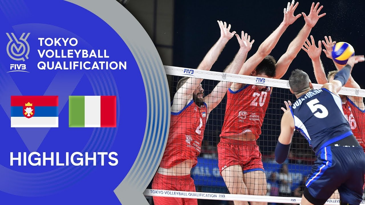 Serbia Vs Italy Highlights Men Volleyball Olympic Qualification 2019 Youtube