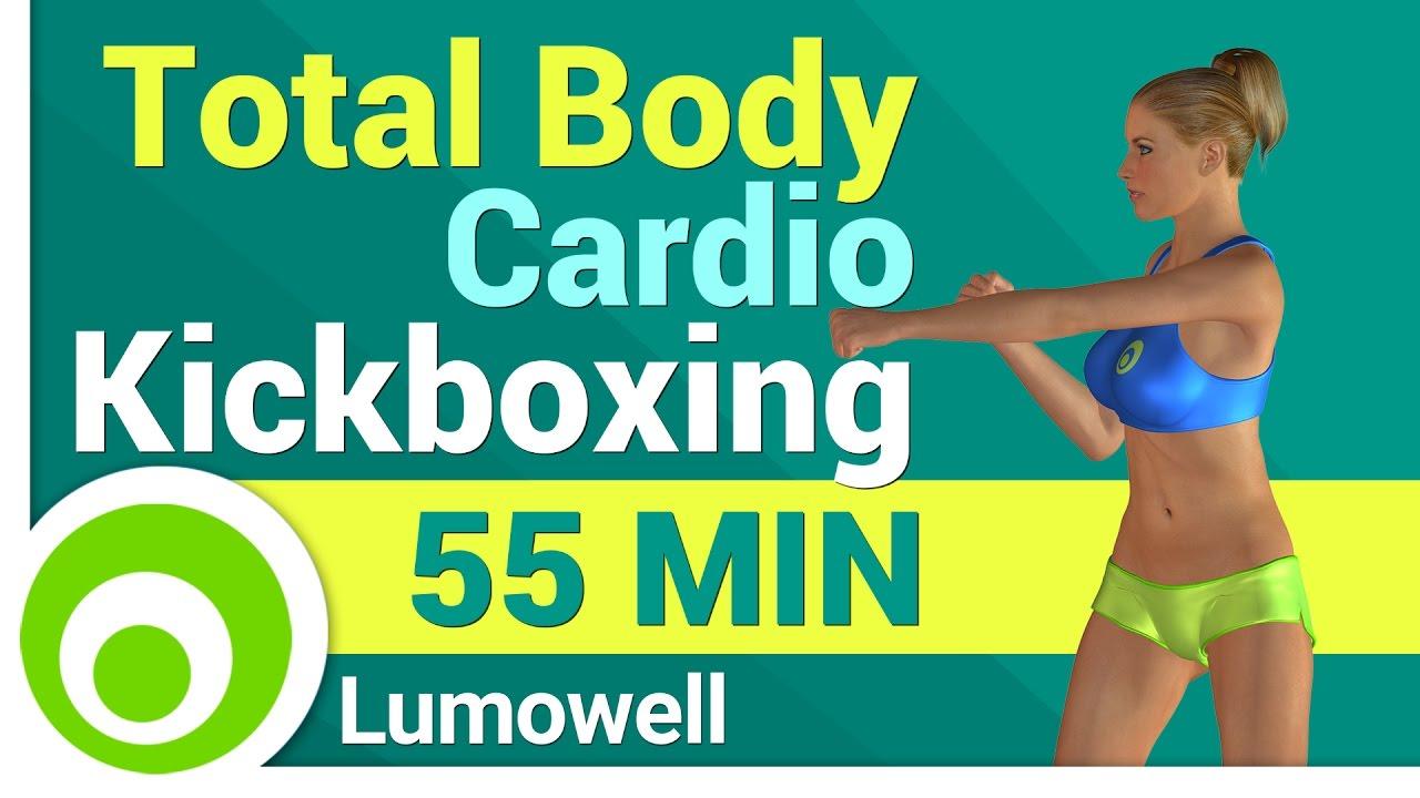 Allenamento completo di cardio kick boxing per dimagrire - Allenamento kick boxing a casa ...