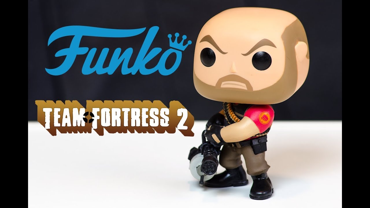 Funko Pop! Team Fortress 2 Heavy Review! - YouTube