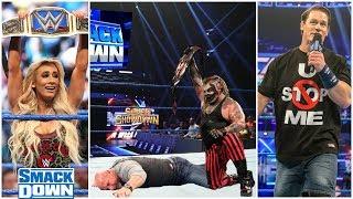 The Fiend Attacks Goldberg ! John Cena Returns At Friday Night Smackdown 2020 Carmella New Champion