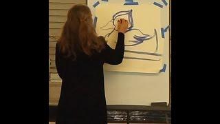 Ane Carla Rovetta Wood Duck drawing