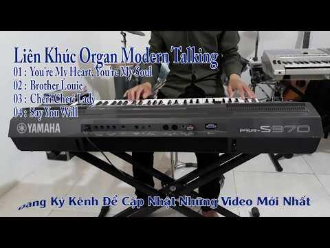 Liên Khúc Organ Modern Taking Không Lời Mới Nhất 2017 ( Bass Nghe Cực Phê )