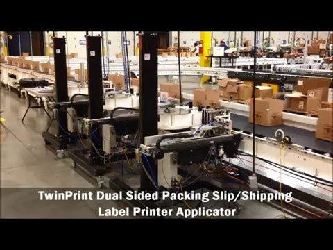 Improve your fulfillment efficiency with automated labeling and packing slip systems from FOX IV.