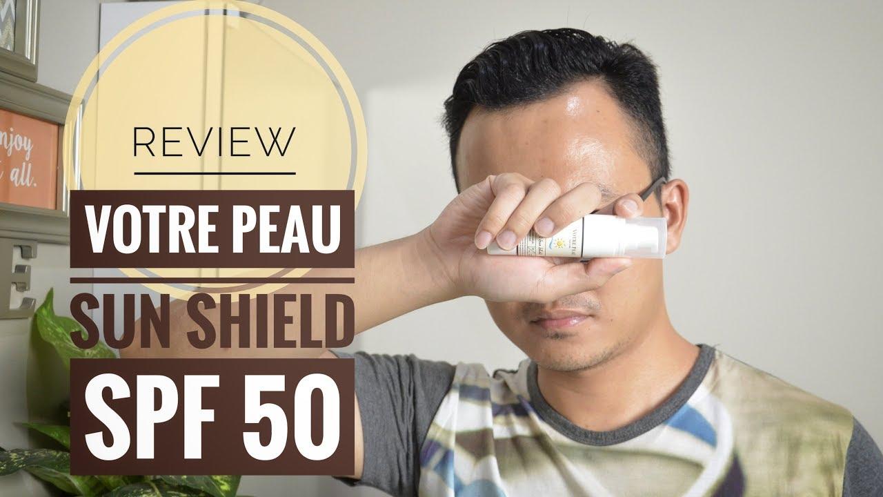 Votre Peau Skincare Facial Sun Shield Daftar Harga Terbaru Dan Spf 50 30ml Review