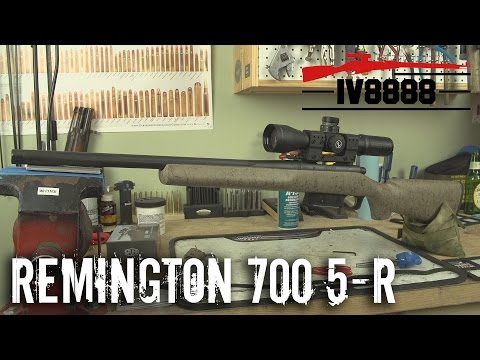 Remington 700 5-R Custom Build