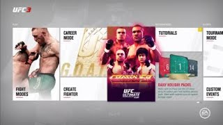UFC 3 Ultimate Team$550,000 Festivus Pack Opening