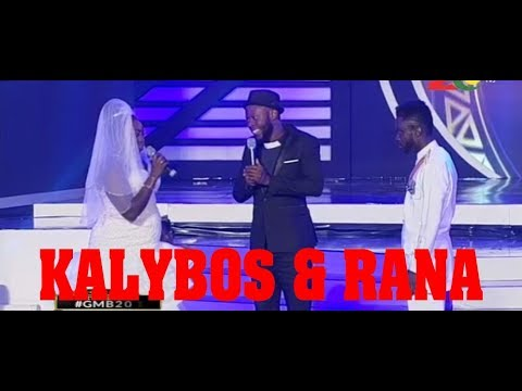 KALYBOS AND KOBI RANA PERFORMANCE AT GHANA MOST BEAUTIFUL 2017 GRANDE FINALE