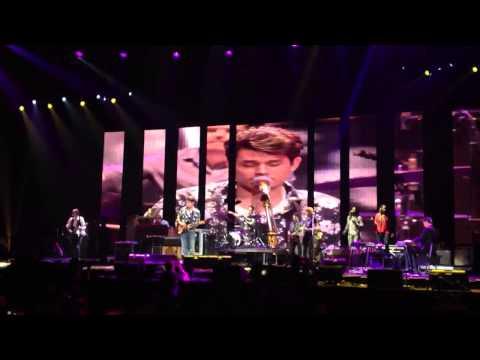 Don't Let Me Down live John Mayer Keith Urban 4/12/13