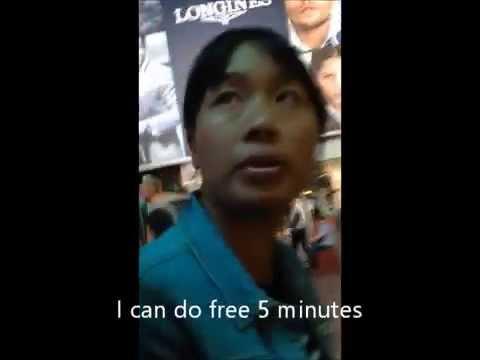 Scam City: Shanghai Massage Nanjing Road. Fan Bing Bing