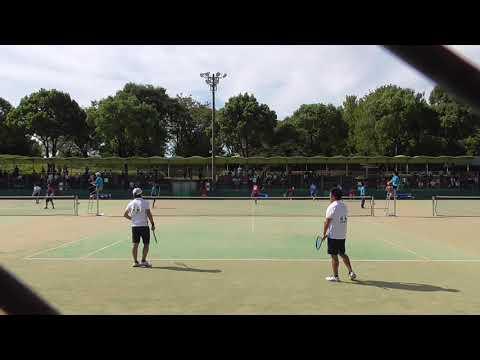 2017 全日本社会人ソフトテニス大会 一般男子 5回戦-⑤