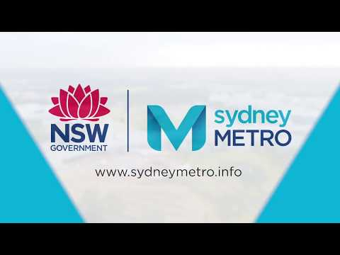 Sydney Metro: Australia's biggest public transport project - update, June 2018