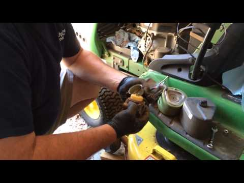 how to clean a john deere stx38 carb how to save money. Black Bedroom Furniture Sets. Home Design Ideas