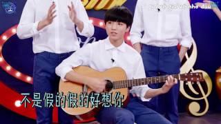 [Vietsub] Tiểu Khải đàn ghi ta hát Anh rất nhớ em trong Bazaar Show 25.06.16