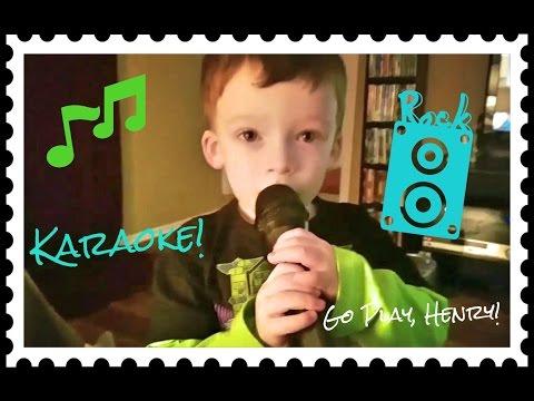 KARAOKE SINGING FUN ! Family fun, toddlers, kids videos, singing